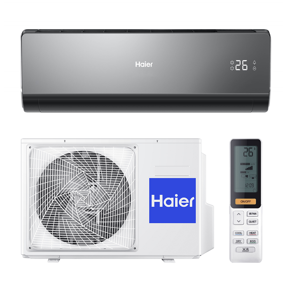 5. Haier сплит-система настенный AS12NS4ERA-B/1U12BS3ERA (серия Lightera DC-Inverter)
