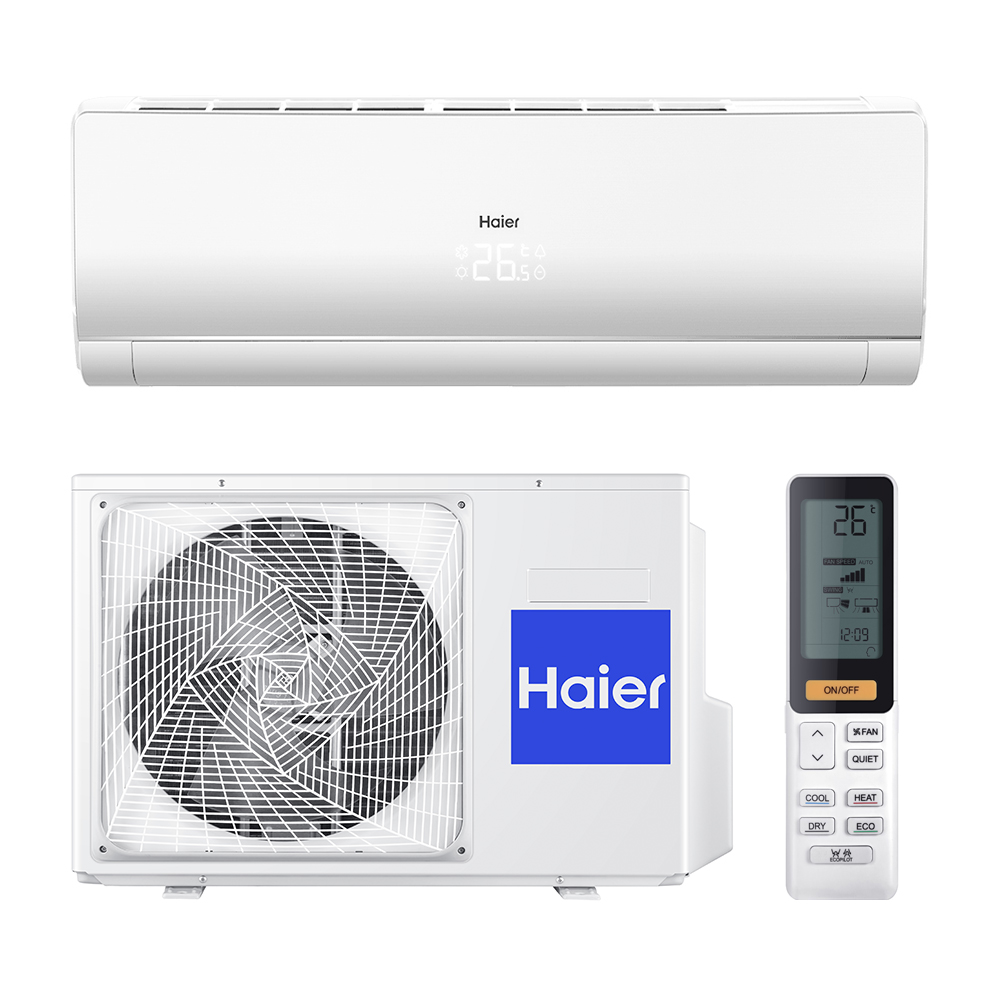 6. Haier сплит-система настенный AS18NS3ERA-W/1U18FS2ERA (серия Lightera DC-Inverter)